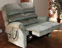 Bespoke recliner settee