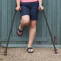 Flexyfoot Closed Cuff Crutches