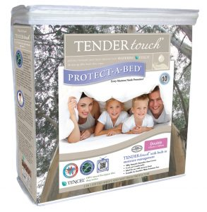 Tender touch mattress protecter