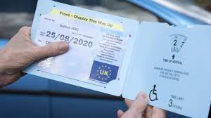 Apply for a blue badge